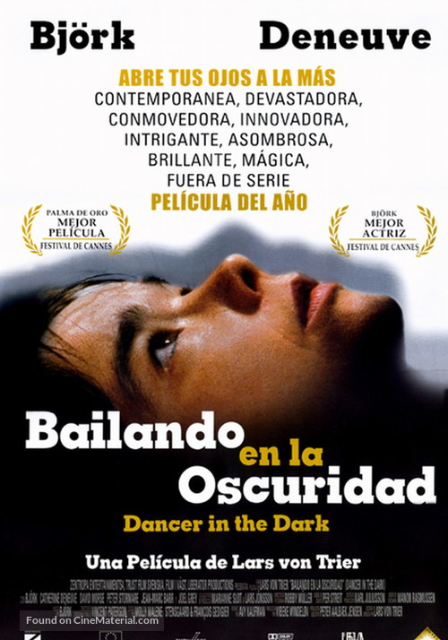 Dancer In The Dark 2000 Mexican Movie Poster
