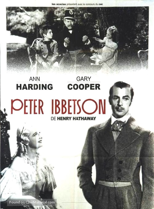 Peter Ibbetson - French Movie Poster