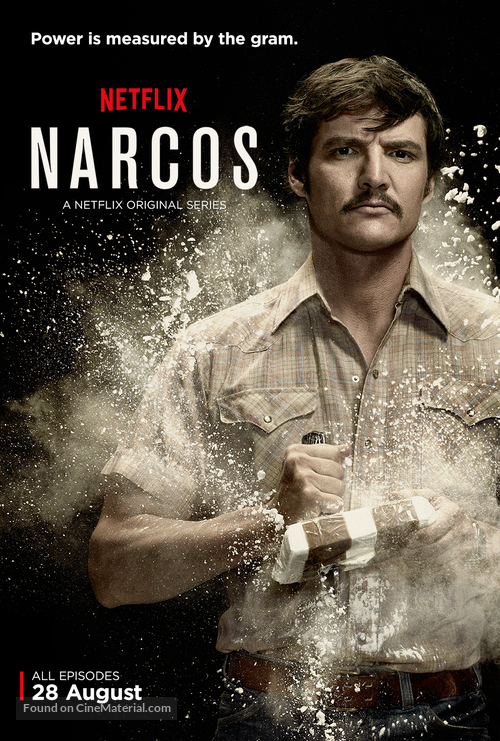"""Narcos"" - British Movie Poster"