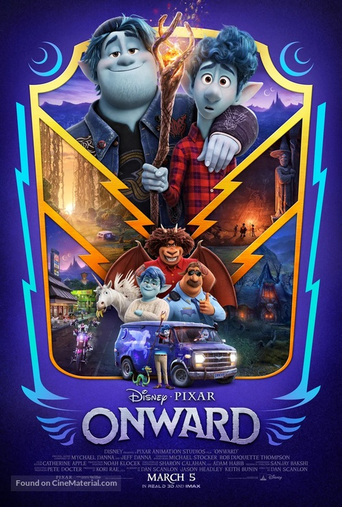 Onward - Canadian Movie Poster