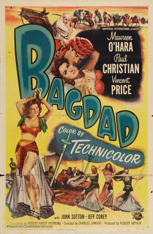 Bagdad - Movie Poster