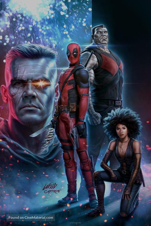 Deadpool 2 - Key art