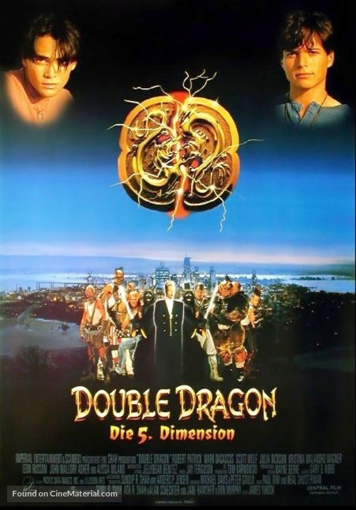 Double Dragon 1994 German Movie Poster