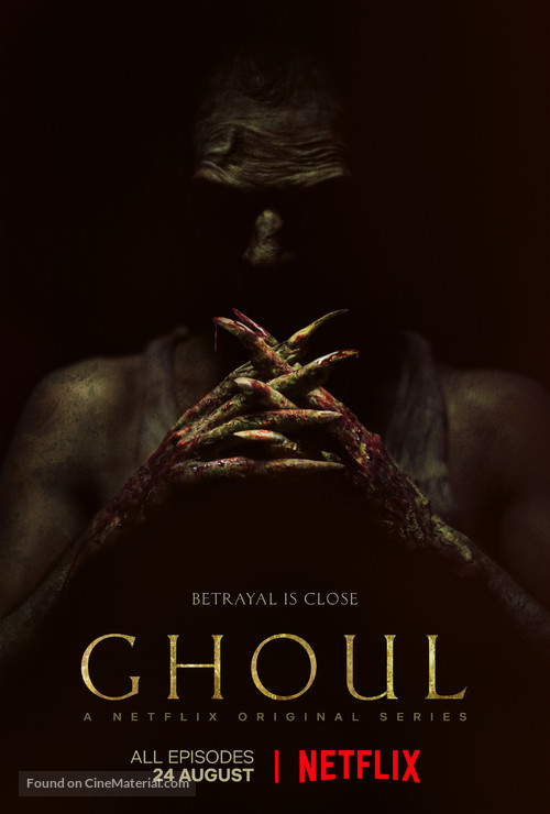 """""""Ghoul"""" - Indian Movie Poster"""