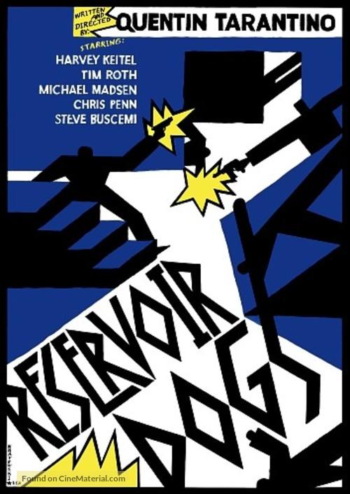 Reservoir Dogs - Polish Movie Poster