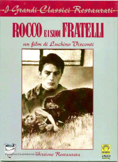 Rocco e i suoi fratelli - Italian DVD cover