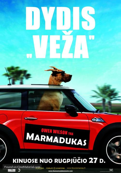 Marmaduke - Lithuanian Movie Poster