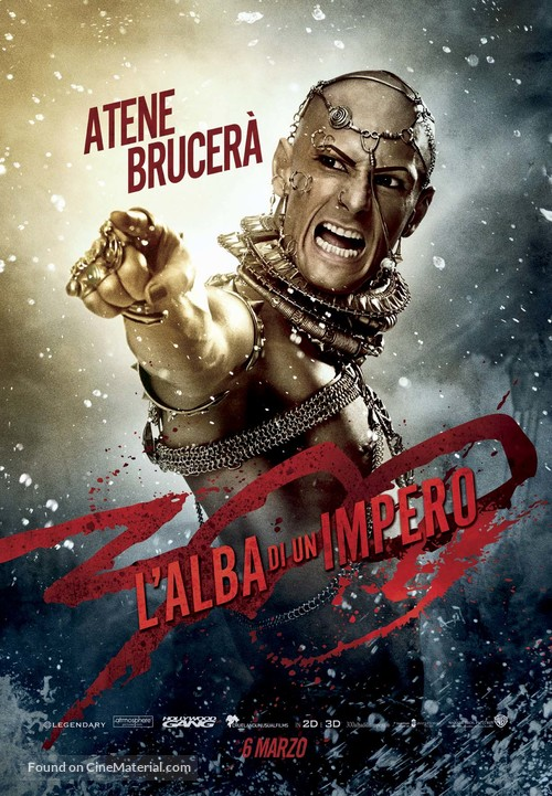 300: Rise of an Empire - Italian Movie Poster
