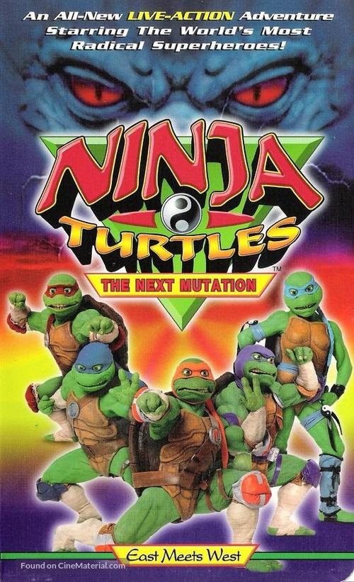 """Ninja Turtles: The Next Mutation"" - VHS movie cover"