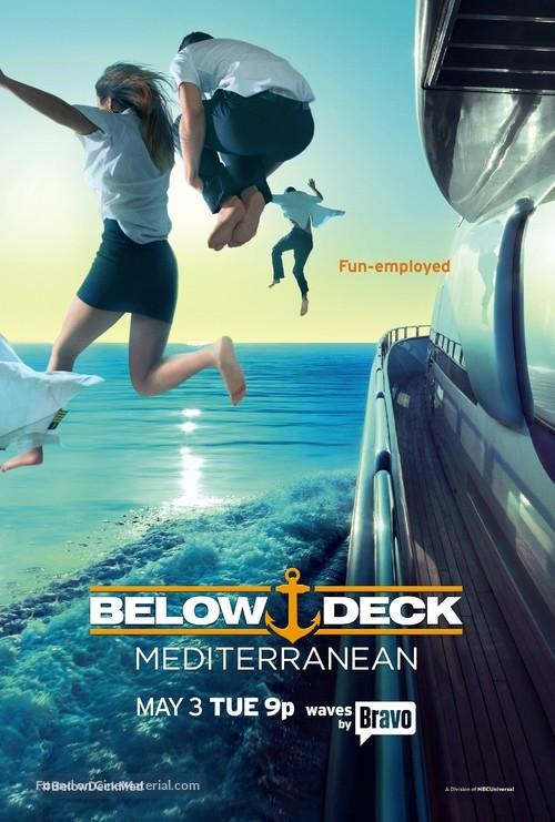 """""""Below Deck Mediterranean"""" - Movie Poster"""