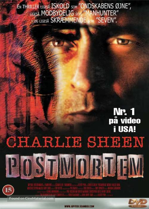 Postmortem - Danish poster