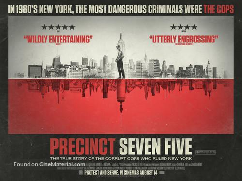 The Seven Five - British Movie Poster