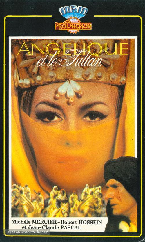 Angélique et le sultan - French VHS movie cover