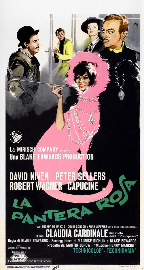 The Pink Panther - Italian Movie Poster