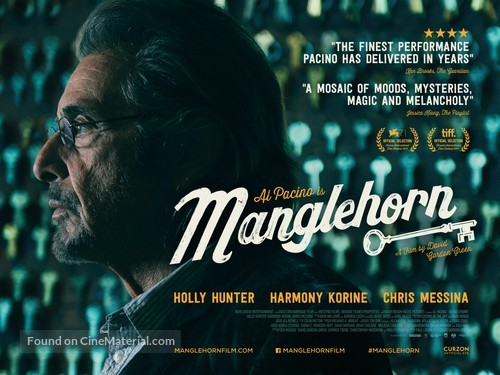 Manglehorn - British Movie Poster