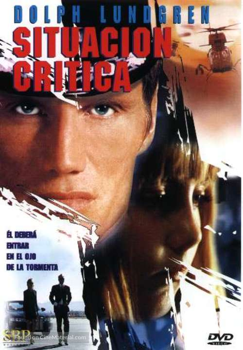 Storm Catcher - Argentinian DVD movie cover