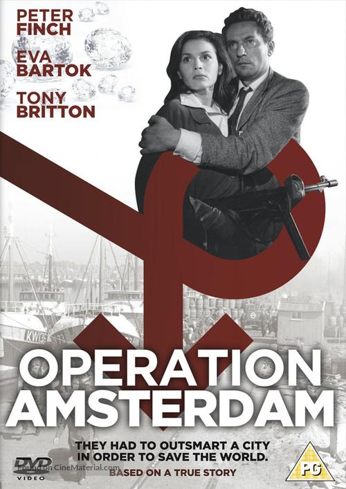 Operation Amsterdam - British DVD cover