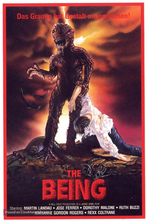 The Being - German VHS movie cover