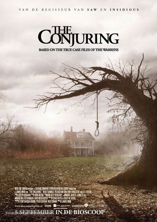 The Conjuring - Dutch Movie Poster
