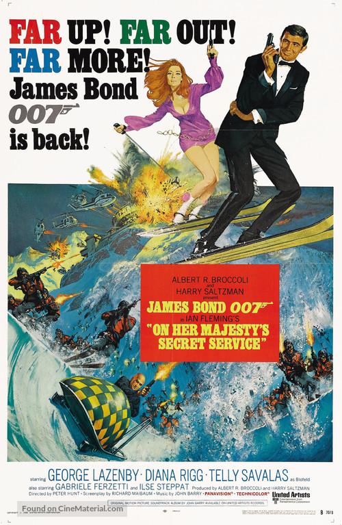 On Her Majesty's Secret Service - Movie Poster