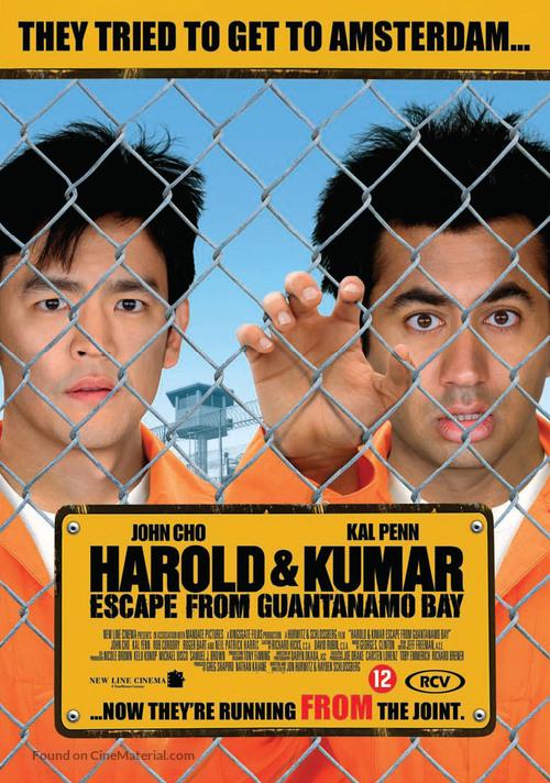 Harold & Kumar Escape from Guantanamo Bay - Dutch DVD cover