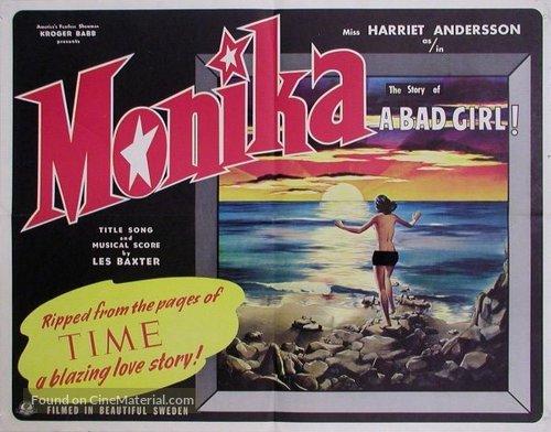 Sommaren med Monika - Movie Poster