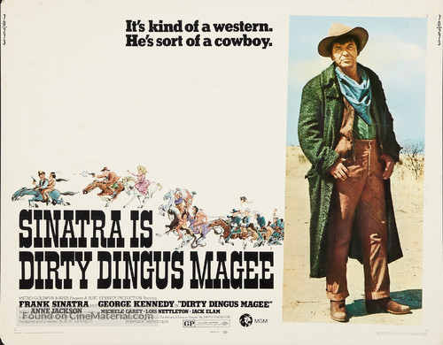 Dirty Dingus Magee - Movie Poster