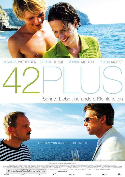 42plus - German Movie Poster