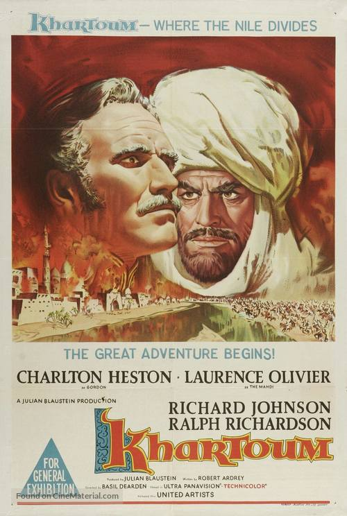 Khartoum - Australian Movie Poster