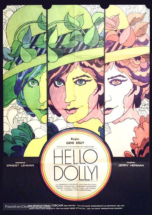 Hello, Dolly! - Romanian Movie Poster