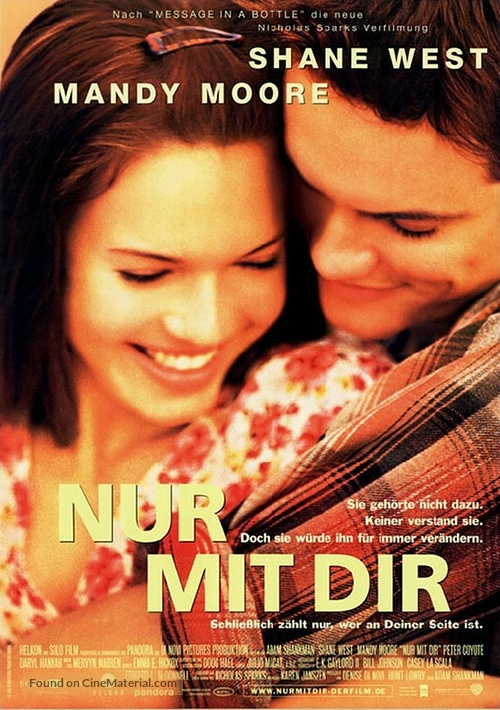 A Walk to Remember - German Movie Poster