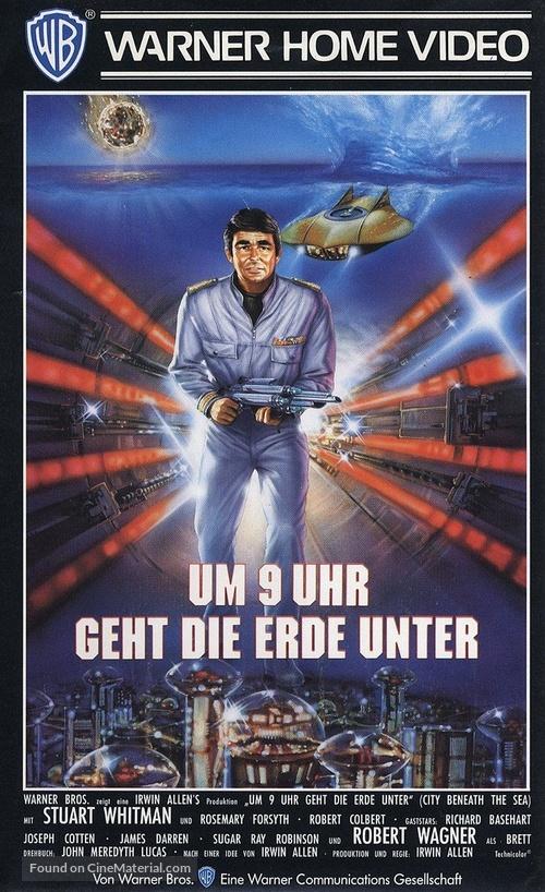 City Beneath the Sea - German VHS movie cover