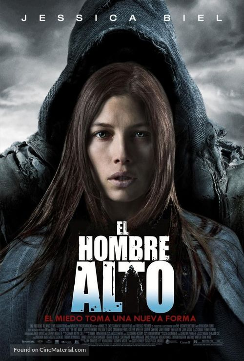 The Tall Man - Argentinian Movie Poster