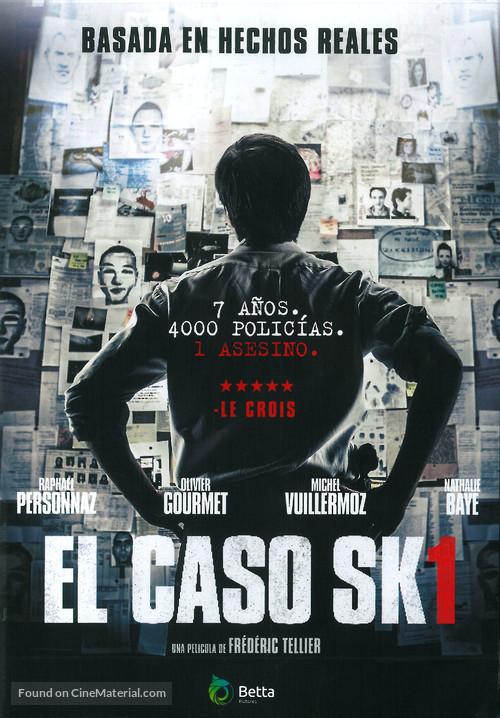 L'affaire SK1 - Spanish Movie Poster