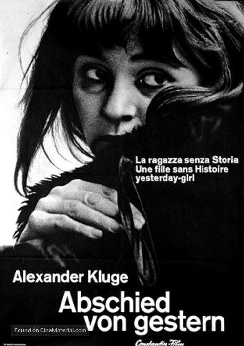 Abschied von gestern - - German Movie Poster