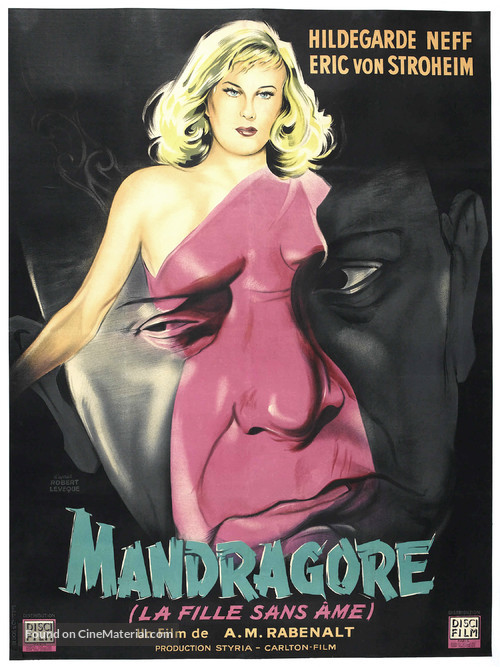 Alraune - French Movie Poster