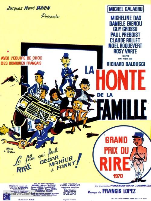 La honte de la famille - French Movie Poster