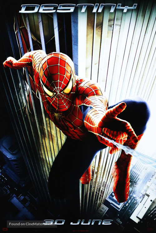 Spider man movie poster