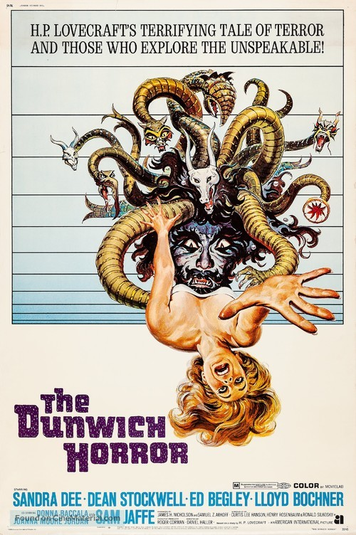 The Dunwich Horror - Movie Poster