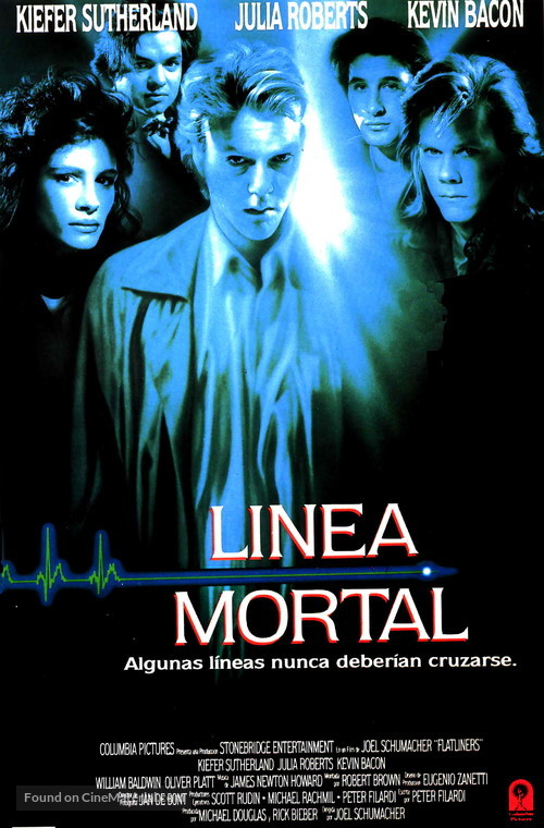 Flatliners - Spanish Movie Poster