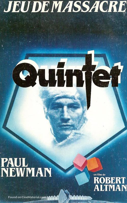Quintet - French VHS movie cover