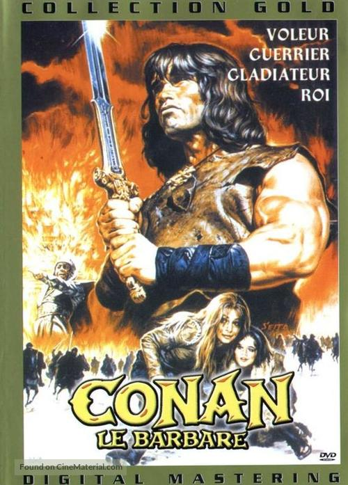 Conan The Barbarian - French Movie Cover