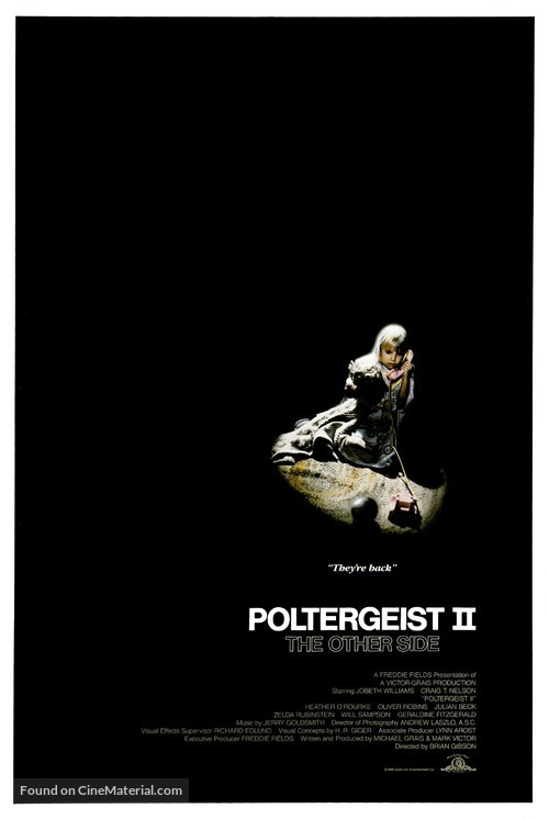 Poltergeist II: The Other Side - Movie Poster