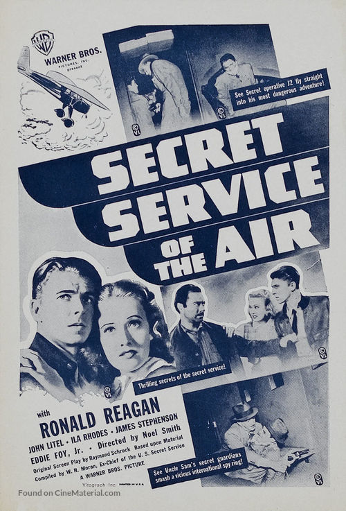 Secret Service of the Air - Movie Poster
