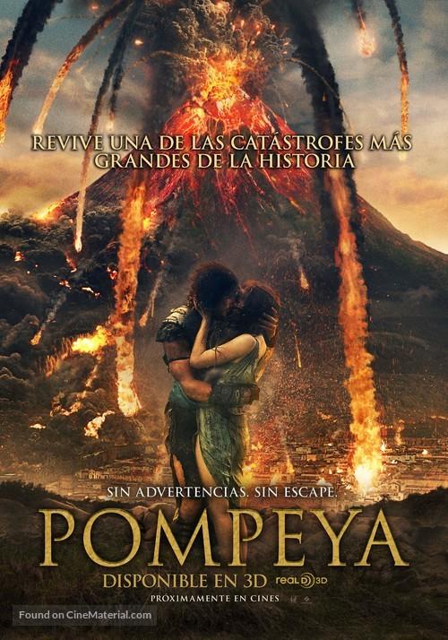 Pompeii - Chilean Movie Poster