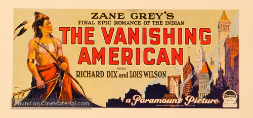 The Vanishing American - poster
