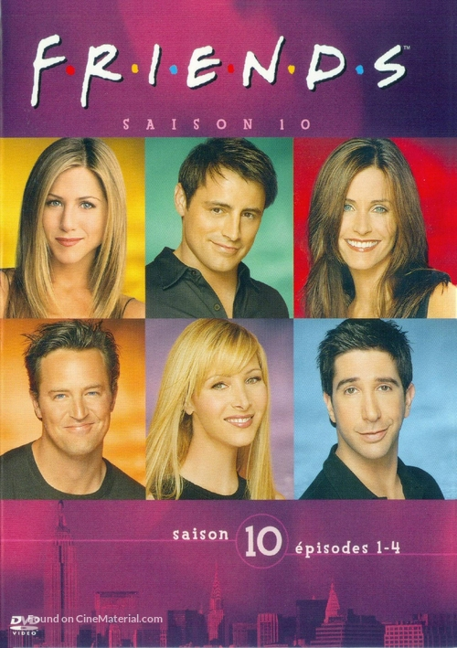 """""""Friends"""" - French DVD movie cover"""