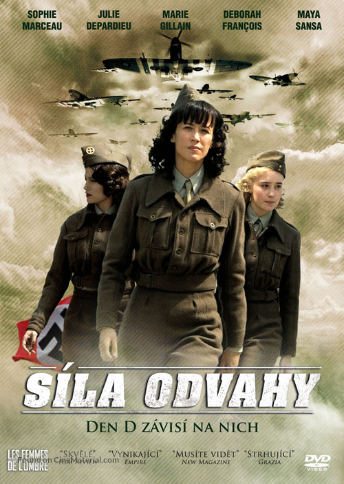 Les femmes de l'ombre - Czech Movie Cover