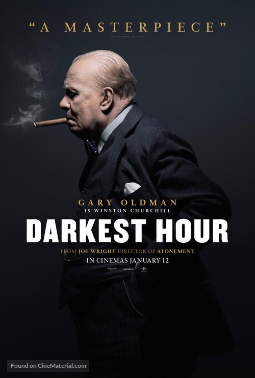 Darkest Hour - British Movie Poster