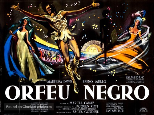 Orfeu Negro - French Movie Poster